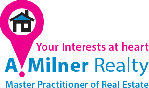 A. Milner Real Estate, Estate Agency Logo